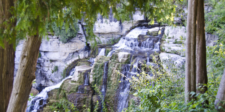 Inglis Falls near Owen Sound